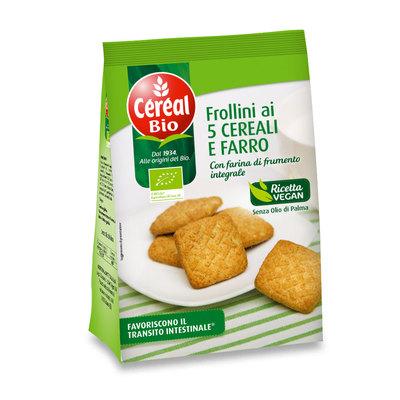 Frollini ai Cinque cereali e farro BIO