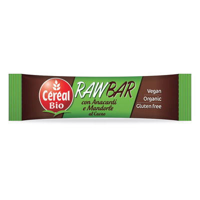 RawFruit bar cacao, mandorle e anacardi BIO