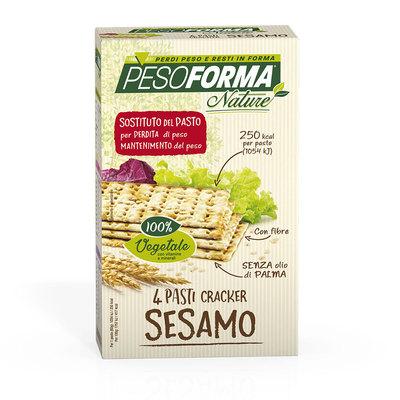 Cracker sesamo - Pasto sostitutivo