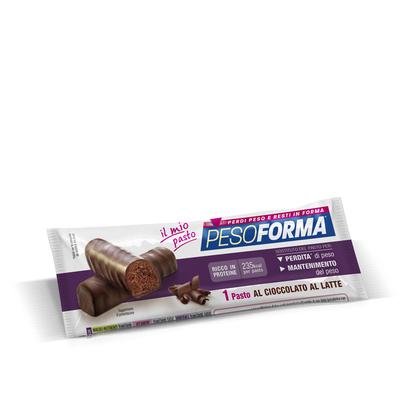 Barrette cioccolato al latte monopasto