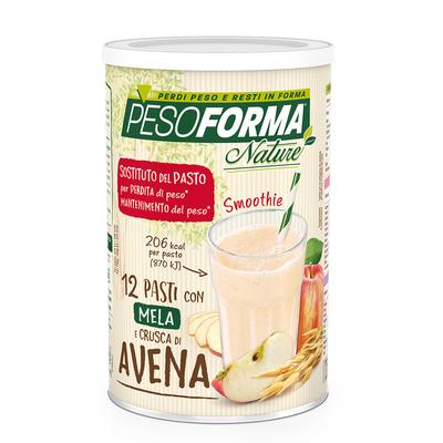 Smoothie con mela e crusca d'Avena - Pasto sostitutivo
