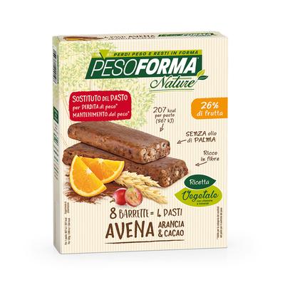 Barrette avena, arancia e cacao - Pasto sostitutivo