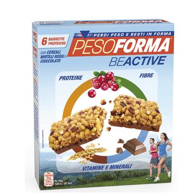 Barrette proteiche ai cereali con mirtilli rossi e cioccolato