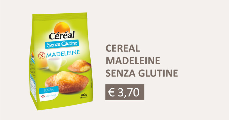 Céréal_Madeleine senza glutine