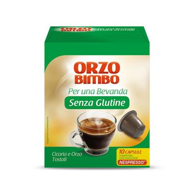 Capsule bevanda senza glutine Orzo e Cicoria