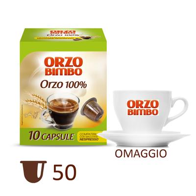 Kit orzo 50 con tazzina omaggio