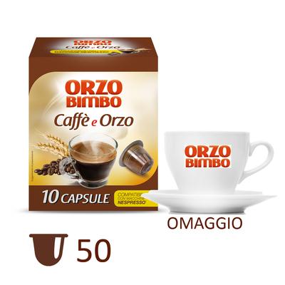 Kit Caffè e Orzo con tazzina omaggio