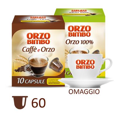 Kit Orzo e Caffè con tazzina omaggio