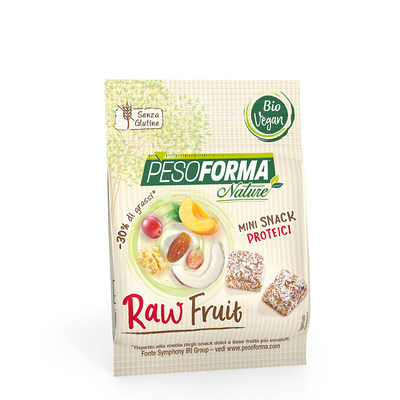 Raw fruit bites Bio