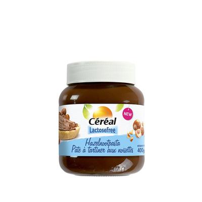 Crema spalmabile alle nocciole senza lattosio