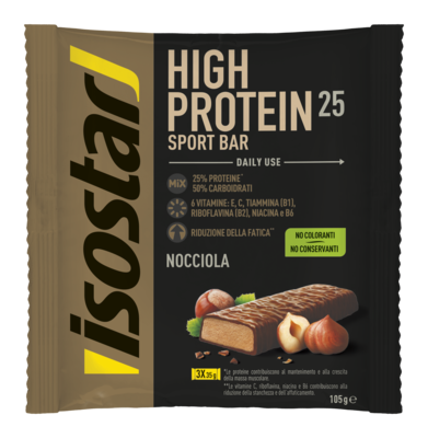 High Energy Protein bar nocciola