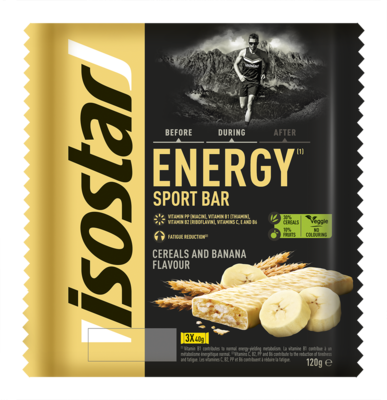 High Energy banana bar