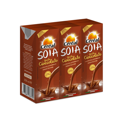 Soia drink al cacao tris