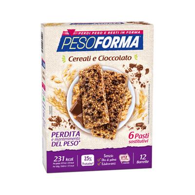Barrette ai cereali e cioccolato - Pasto sostitutivo
