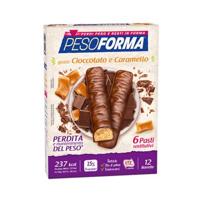 Barrette cioccolato e caramello - Pasto sostitutivo