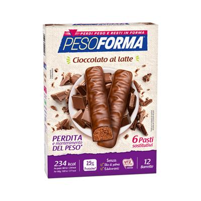 Barrette cioccolato al latte - Pasto sostitutivo