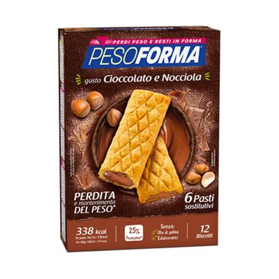 Biscotti cioccolato e nocciola - Pasto sostitutivo