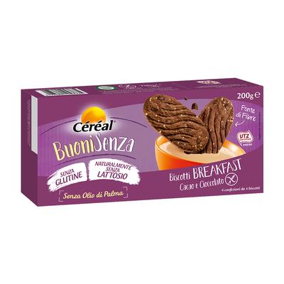 Biscotti Breakfast al cioccolato