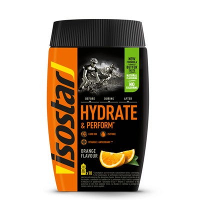 Polvere Hydrate e Perform arancia