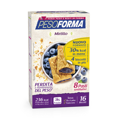Biscotti Mirtillo - Pasto Sostitutivo