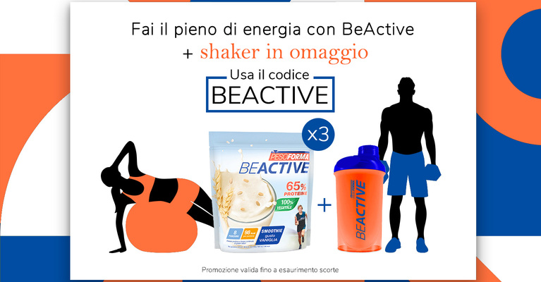 Acquista 3 Protein Smoothie e ricevi lo shaker