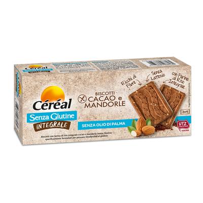 Biscotti Cacao e Mandorle Integrali senza glutine