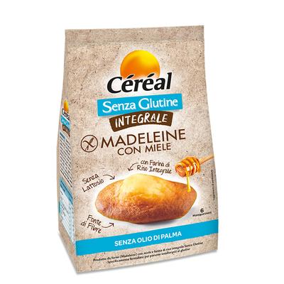 Madeleine con miele Integrali Senza Glutine